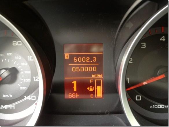 50000 miles