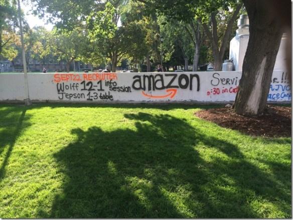 Amazon at Gonzaga
