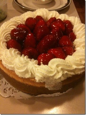 Thankgiving cheesecake