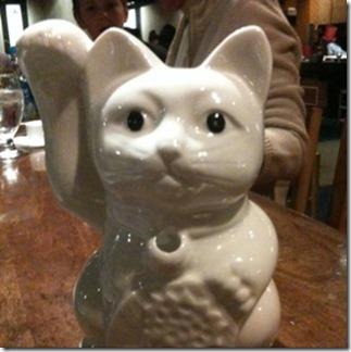 Benhanna Lucky Cat