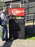 It's the mystery soda machine