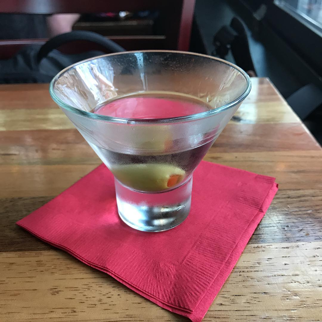 Vodka martini. Miss you Paul.