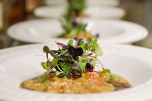 Brotes en Risotto by @horatope