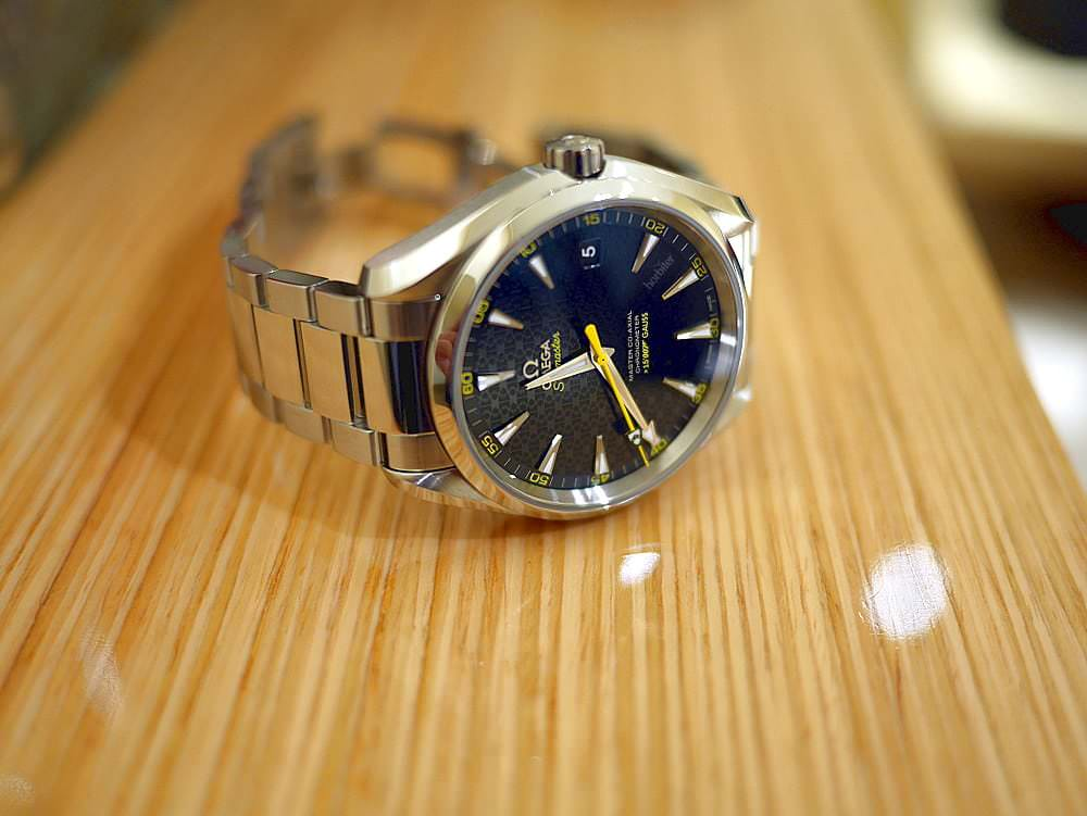 Today Im Wearing The Omega Seamaster Aqua Terra Spectre