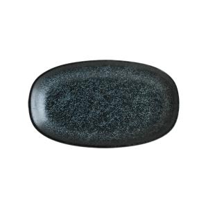 bonna vesper matt gourmet oval kayik tabak 19 x 11 cm - Horebica
