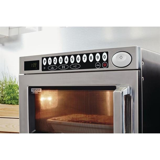 samsung microwave 1850 watt c529 programmable