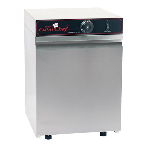Illustratie: foto van de kleinste bordenwarmer in het assortiment. De CaterChef 30 verwarmt maximaal 30 borden tegelijk.