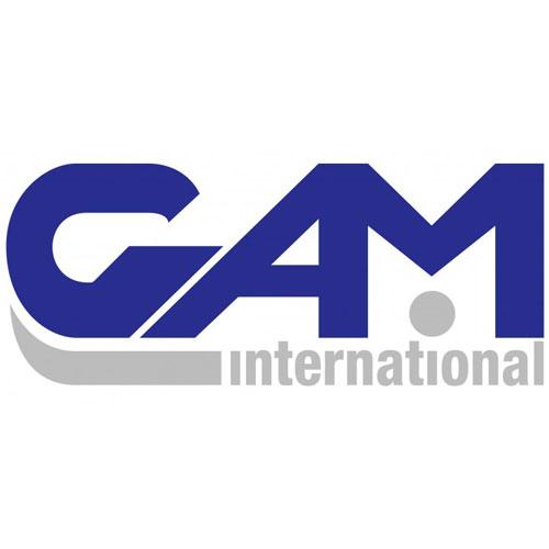 Illustratie: afbeelding van het logo van GAM International.