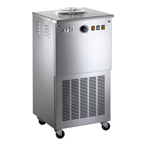 Illustratie: foto van de Musso Club/Zara mobile professional icemachine.
