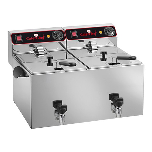 Friteuse Caterchef 9+9 liter 680.209