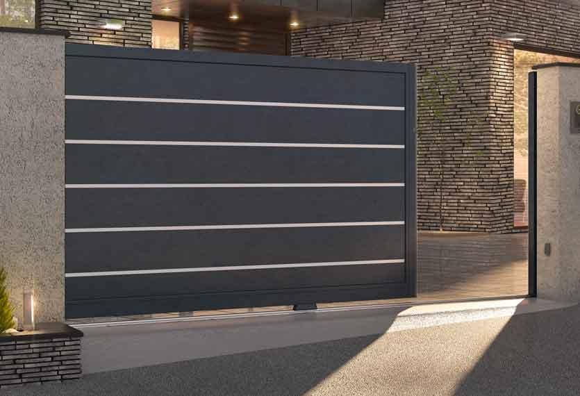 Contemporary Metal Gates
