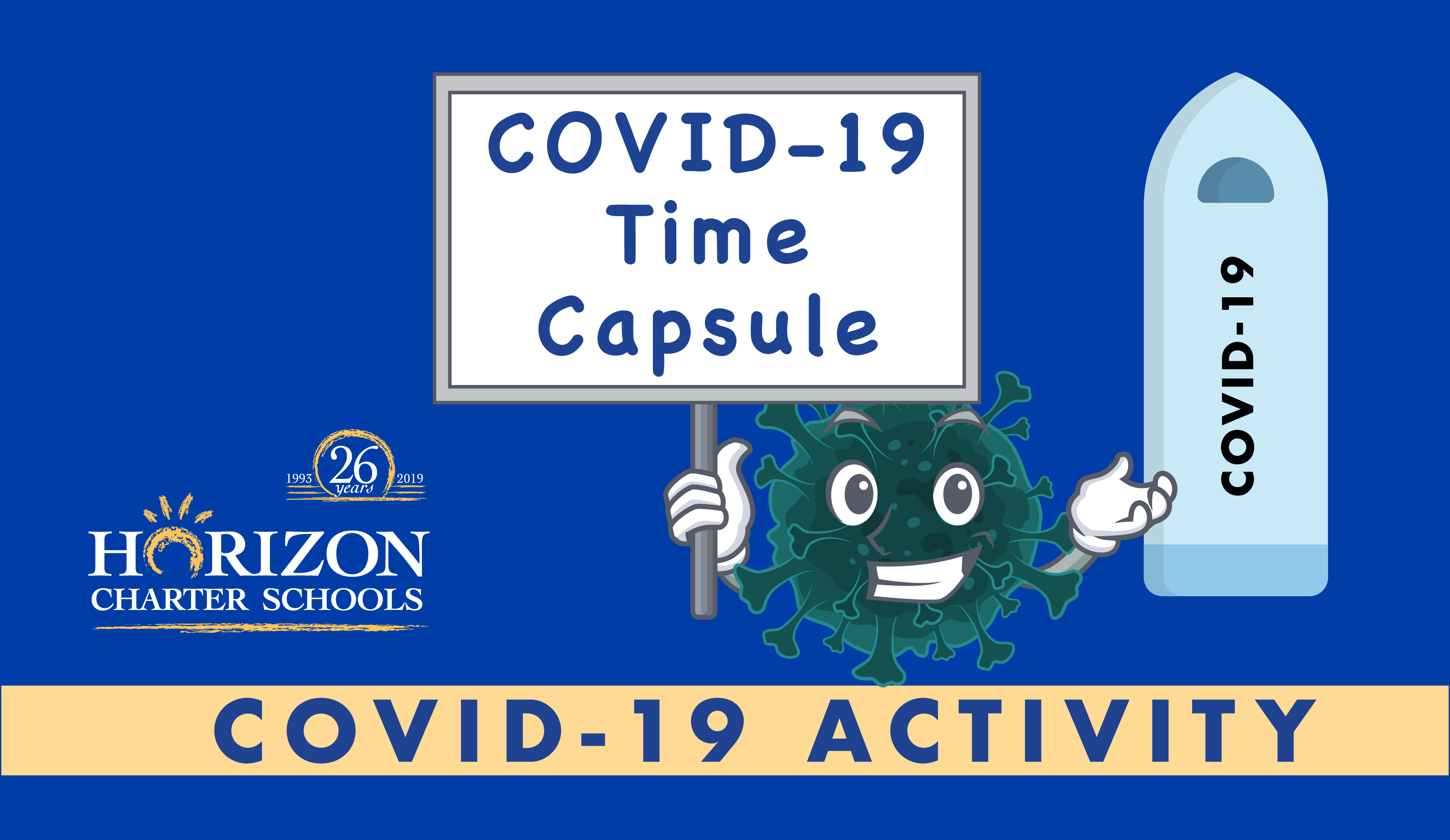 Covid 19 Time Capsule Activity For Home School Students Of