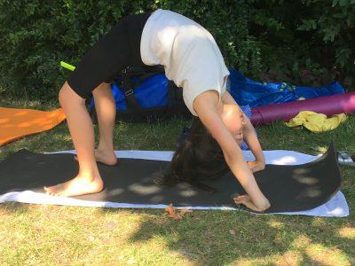 Initiation Yoga aux arènes de Lutèce