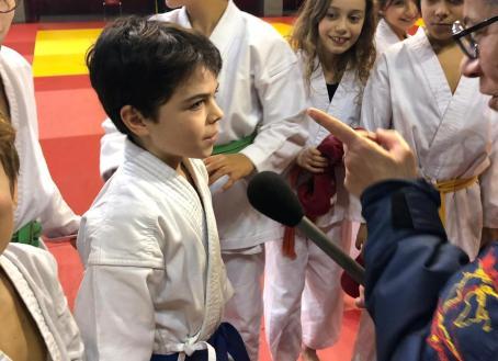 Gabriel Interview pôle compétition