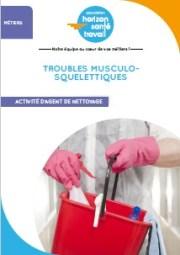Prévenir les TMS pour les agents de nettoyage (livret)