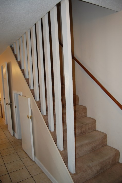 Stairs to bedrooms upstairs