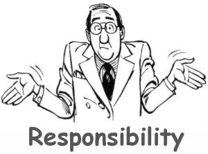 Afbeeldingsresultaat voor responsibility cartoon