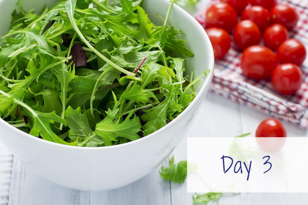 salad tomatoes HCG recipe plan