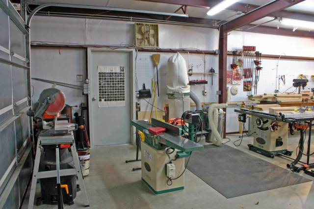 ... New shop layout - by riverb @ LumberJocks.com ~ woodworking community