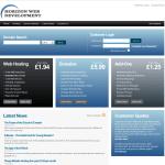 Customer Control Panel Main Page