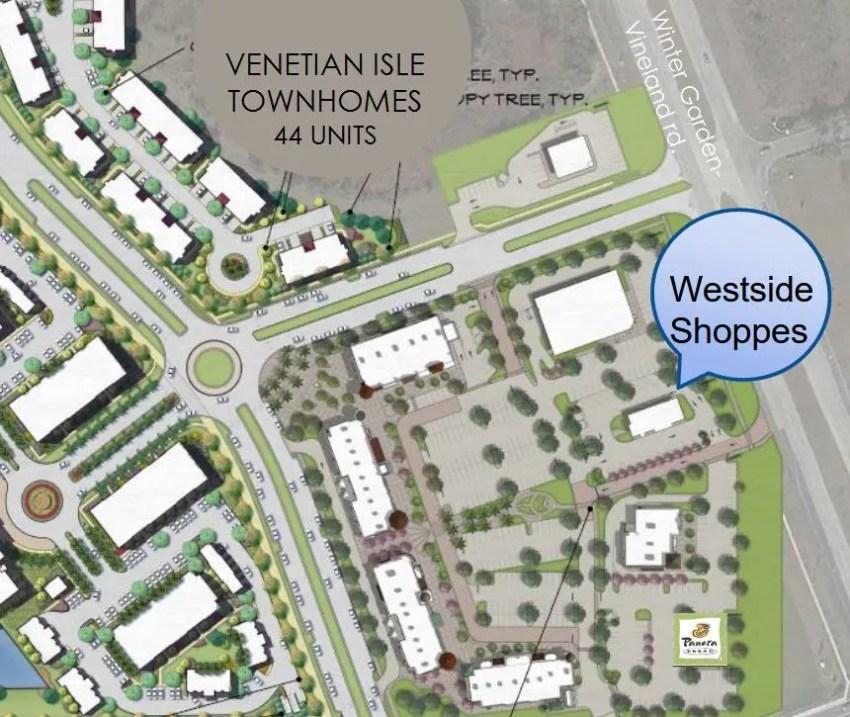 Westside Shoppes at Horizon West in Windermere, Florida