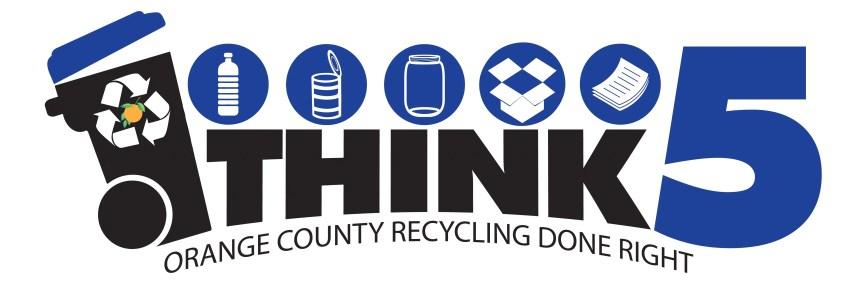 Orange County Florida Think 5 Recycling Program