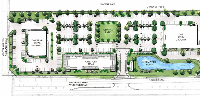 Windermere Village Site Plan