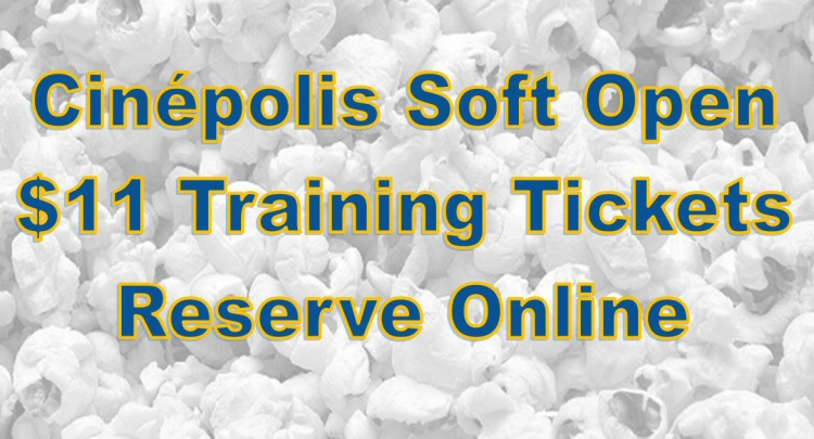 Cinepolis Hamlin Soft Open
