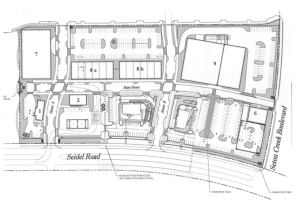 The Mark Site Plan