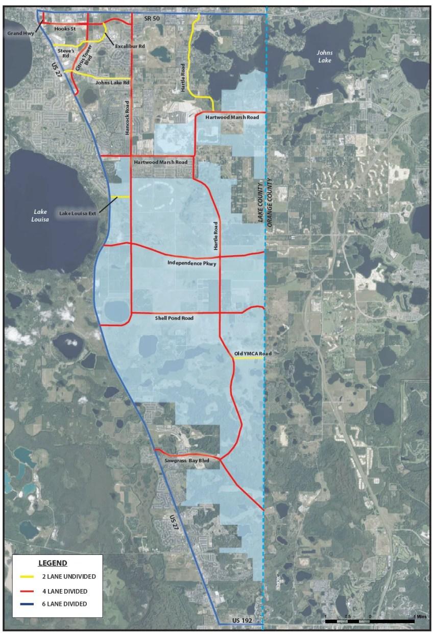 Wellness Way Future Roadway Network Map