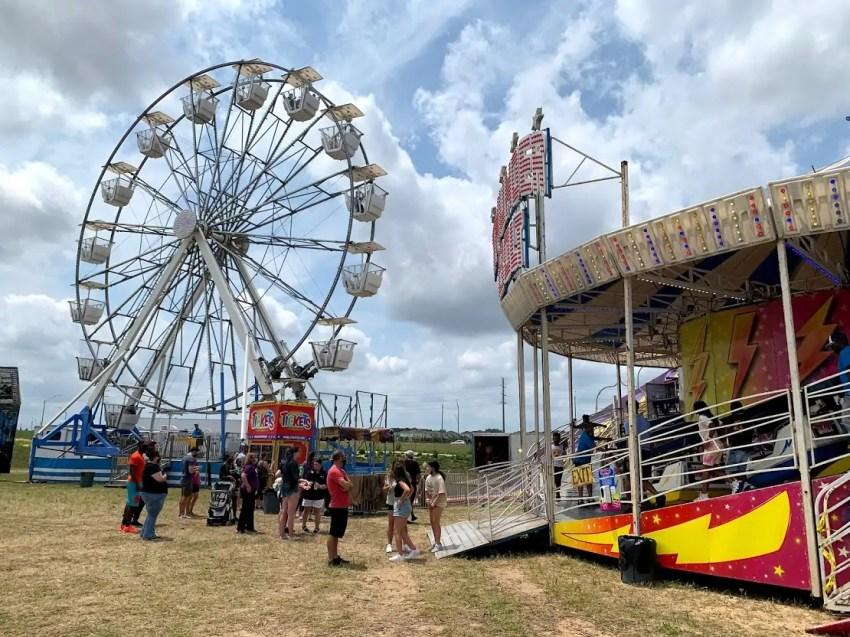Hamlin Fair Ferris Wheel