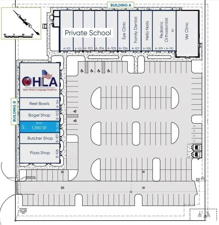 Windermere Center Site Plan
