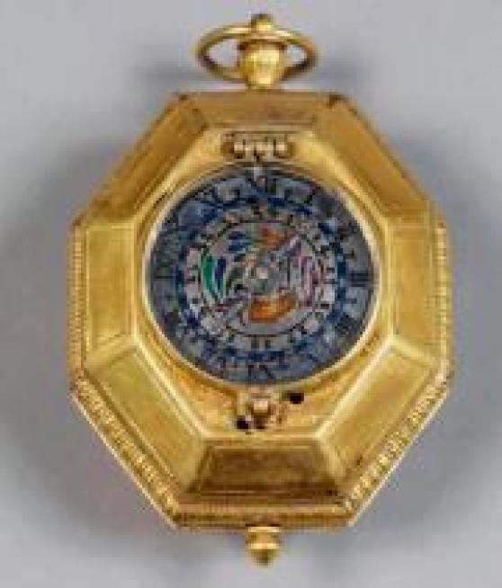 MONTRE OCTOGONALE vers 1580
