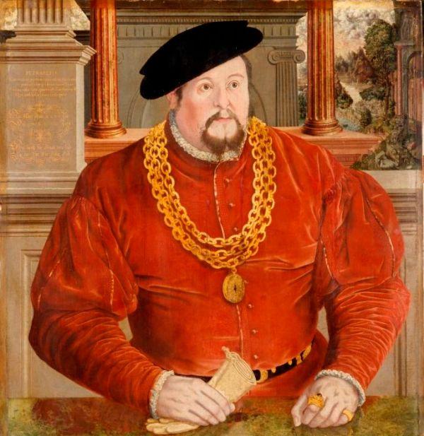 homme en rouge 1567
