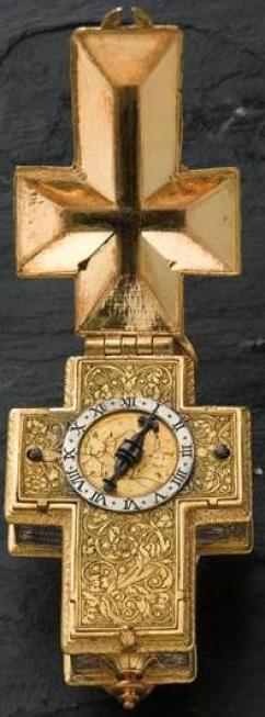 montre croix ecouen