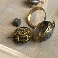 Première montre répétition des quarts, sans fusée, une aiguille, réserve de marche
