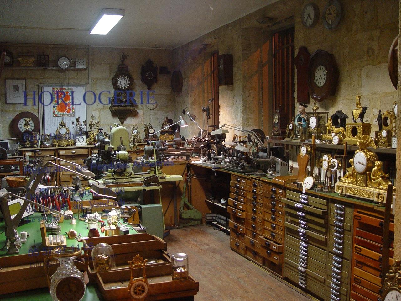 Peter Peschel Restauration Rparation Horlogerie Pendules
