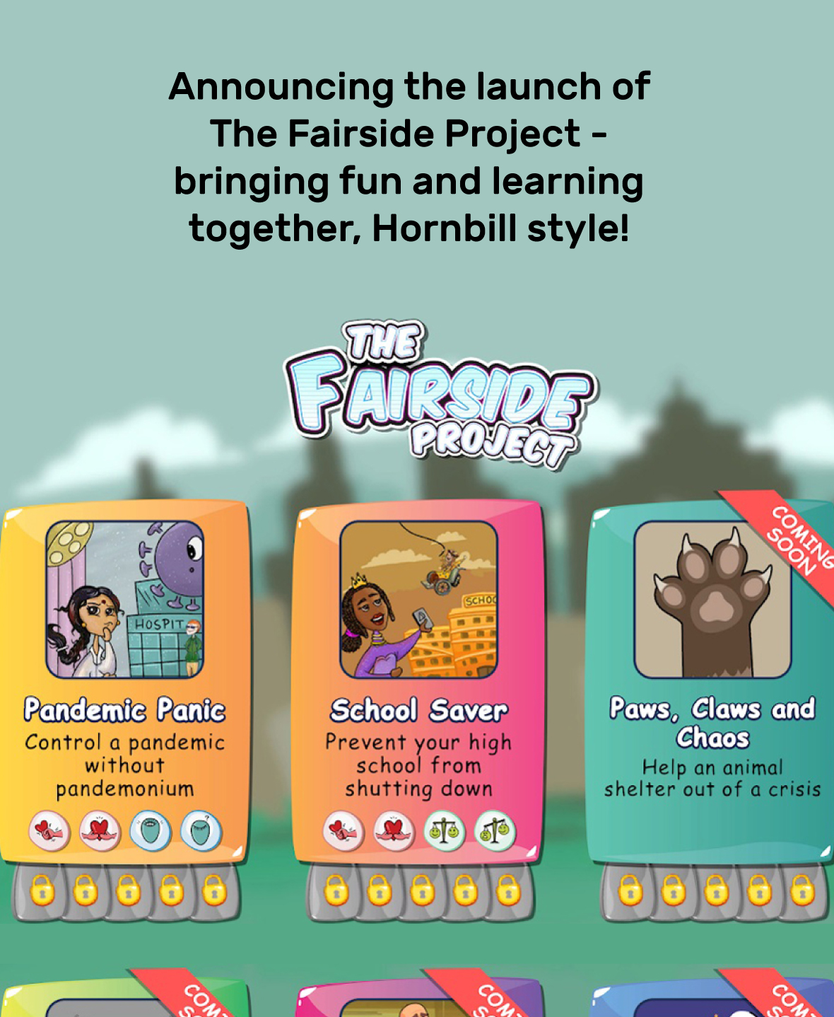 Announcing the launch of The Fairside Project
