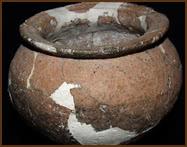 Vasija de época romana (siglo I d. C)