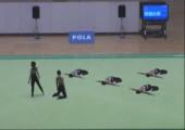 Japanische Gymnastikperformance