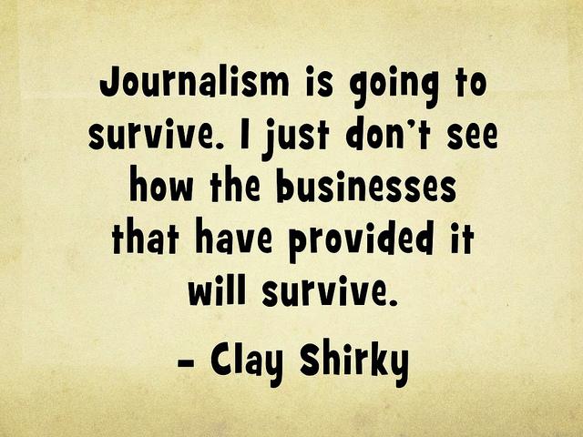 death of journalism