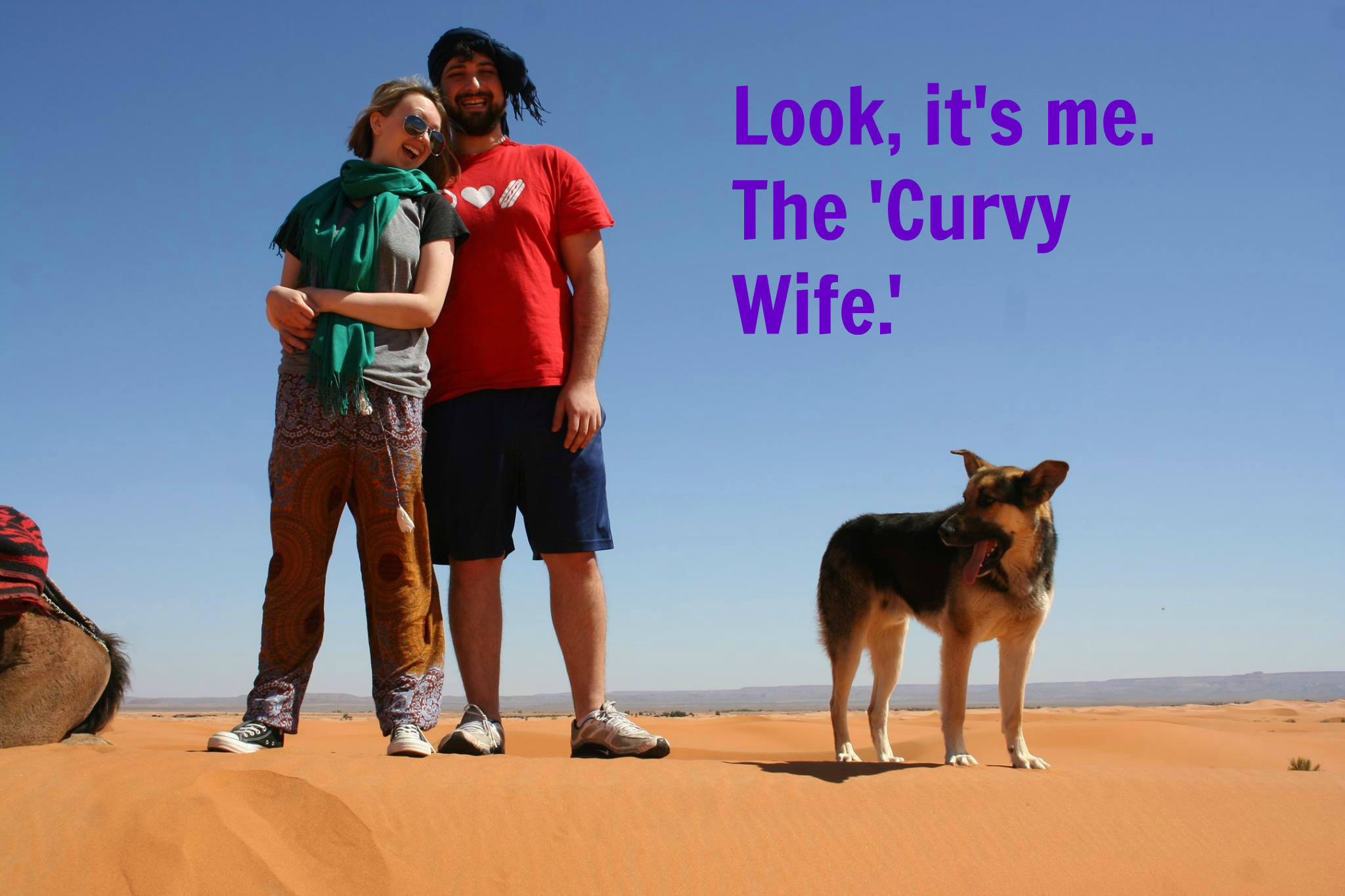 Why I'm Actually the 'Curvy Wife' In My Relationship