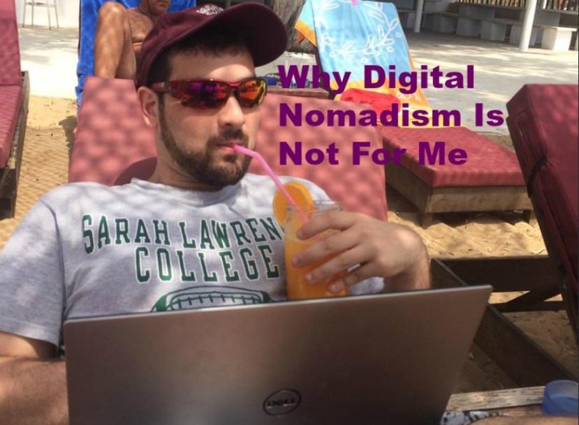disadvantages of being a digital nomad