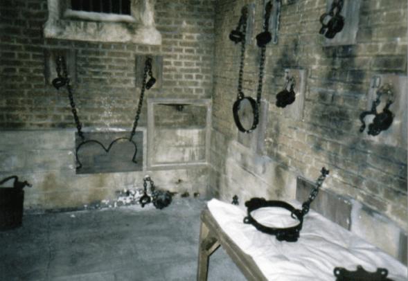 Le quartier des esclaves du manoir LaLaurie