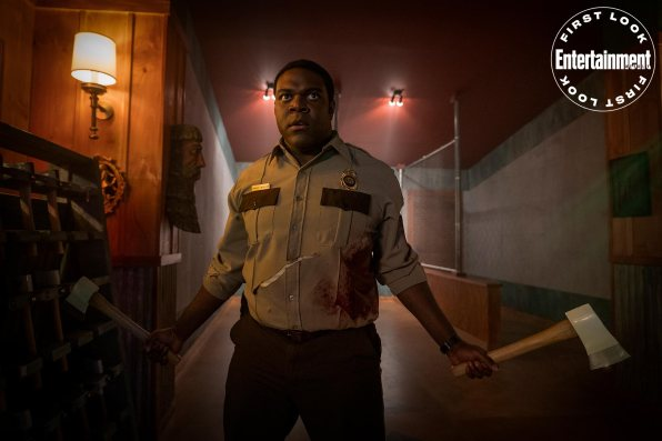 Sam Richardson in WEREWOLVES WITHIN, produced by Ubisoft Film & Television, Vanishing Angle, and Sam Richardson. IFC Films will release the film June 25th, 2021 in select theaters and on demand.
