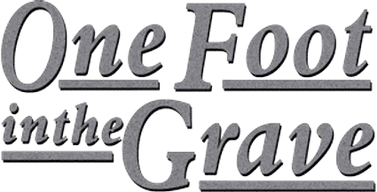 one foot in the grave logo 2