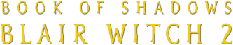 Book of Shadows-Blair Witch 2 logo