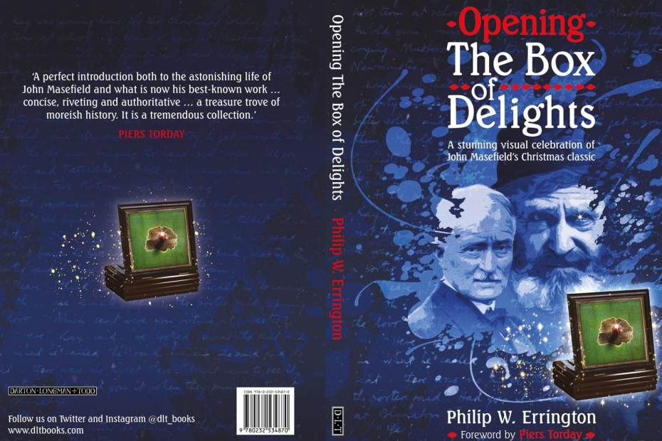 Opening The Box of Delights jacket cover