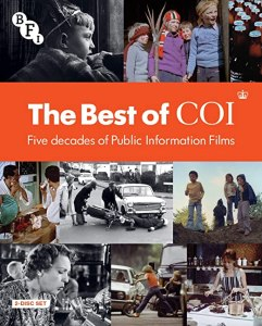 The Best of COI Five Decades of Public Information Films blu-ray front cover