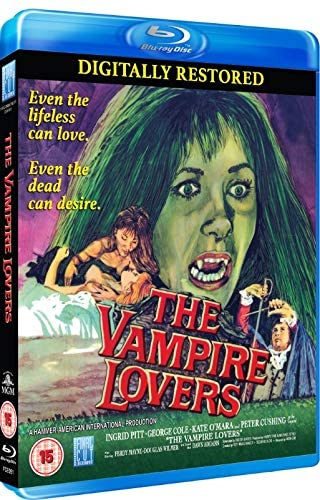 The Vampire Lovers blu ray cover